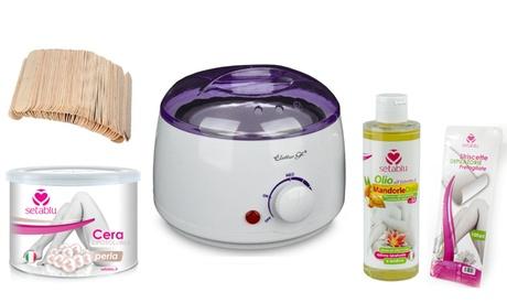 Set depilazione Setablu disponibili in 5 prodotti