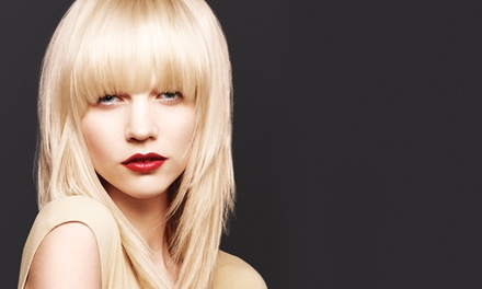 Haircut with Optional Highlights or Single-Process Colour at Colours Salon and Spa (Up to 60% Off)