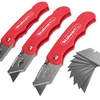 Folding Utility Knife with Blades by Stalwart (Set-of-3)