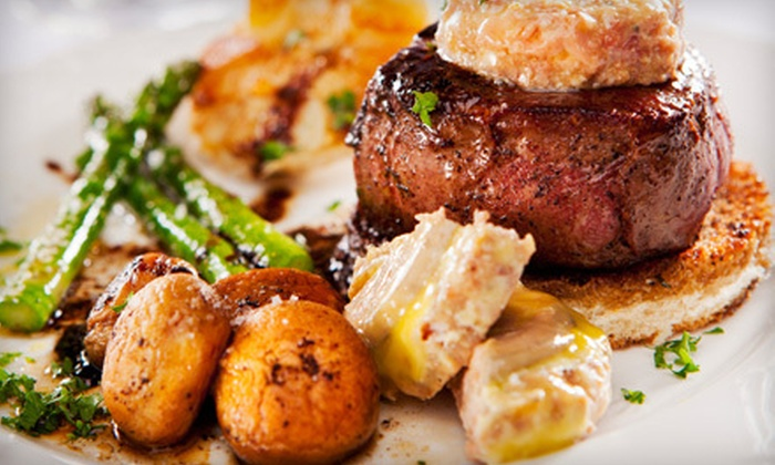 Crave Grill - Walkerville: $15 for $30 Worth of International Cuisine at Crave Grill
