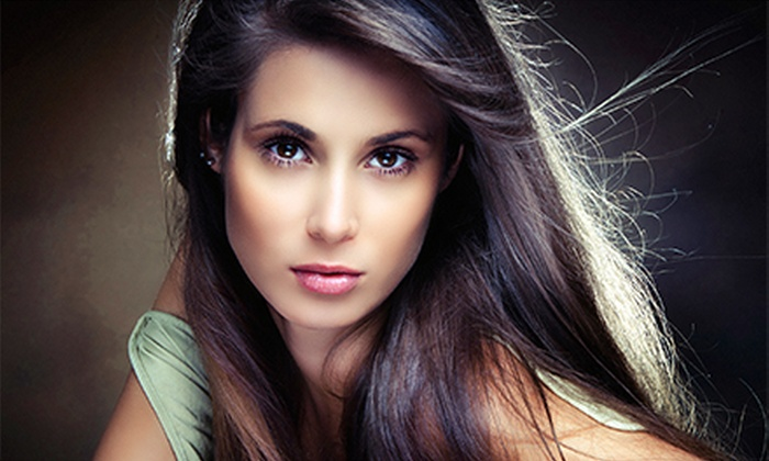 Avanti Hair Salon - White Plains: Moroccanoil Treatment and Blow-Dry Style with Option of Glaze at Avanti Hair Salon (Up to 71% Off)