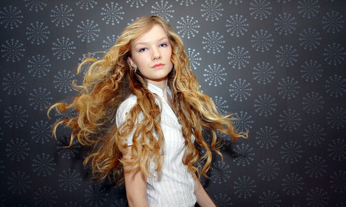 Salon 22 - Crete: Women's Shampoo, Haircut, and Style with Optional Partial Highlights at Salon 22 (57% Off)