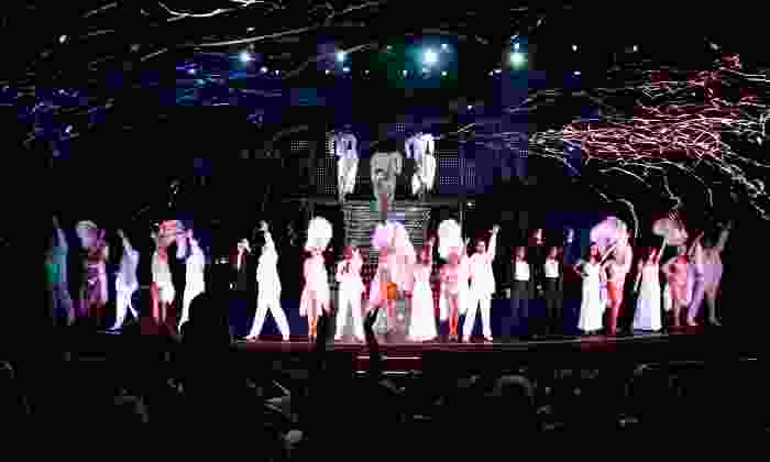 "Vegas! The Show - V Theater: ""Vegas! The Show"" Performance for One or Two at the Saxe Theater (Up to 56% Off)"