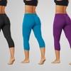 Bally Total Fitness Performance Capri Leggings