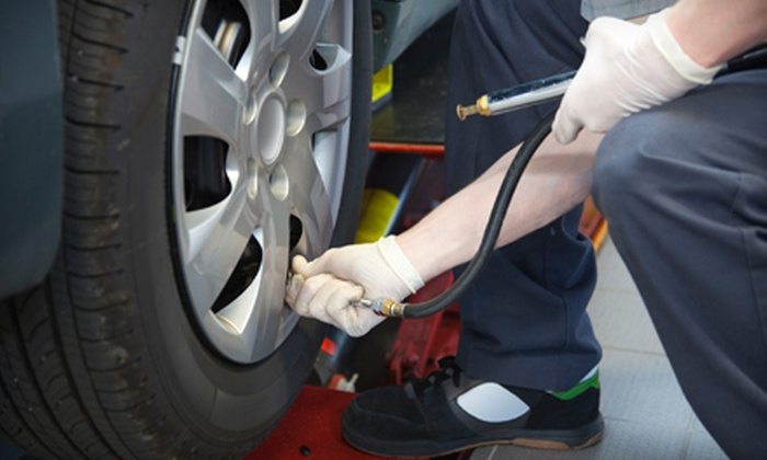 TireChangers - Ottawa: Mobile Tire-Changing Service for One or Two Vehicles with Optional Economy Detailing from TireChangers (Up to 55% Off)