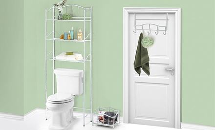 3-Piece Bathroom Space Saver Set