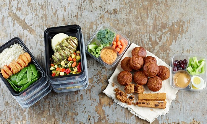 Fit-Flavors by Jillian - Chesterfield: Healthy Pre-Made Meals for Pickup from Fit-Flavors (50% Off). Two Options Available.