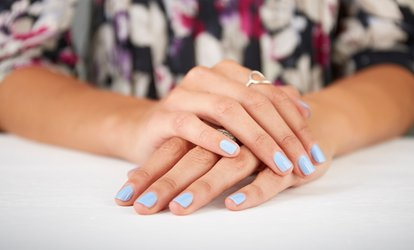 image for Shellac Manicure or Pedicure at Fusion Hair and Beauty (Up to 40% Off)