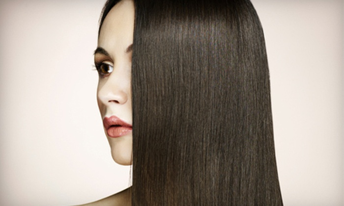 Hair By Jill VanVooren - Roscoe Village: Brazilian Blowout Zero Smoothing Treatment With or Without Haircut at Hair By Jill VanVooren (66% Off)
