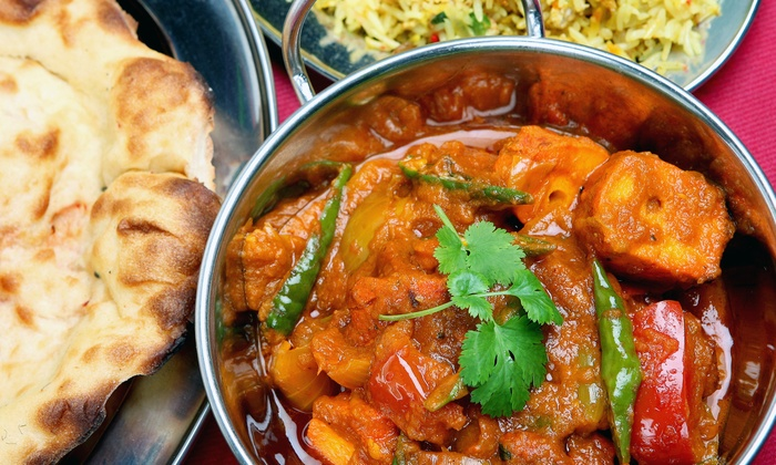 Streets Of India Cafe - South Valley: Vegan and Vegetarian Indian Fare and Drinks at Streets of India Café (40% Off). Two Options Available.
