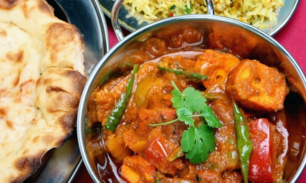 Vegan and Vegetarian Indian Fare and Drinks at Streets of India Café (40% Off). Two Options Available.