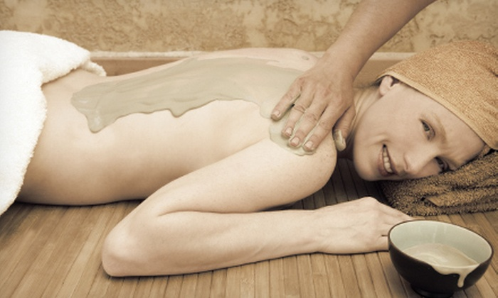Butterfly Kisses Massage Therapy - Midcities: 60-Minute Cocoa-Butter Body Wrap or Hot-Stone Reflexology Treatment at Butterfly Kisses Massage Therapy (Up to 54% Off)