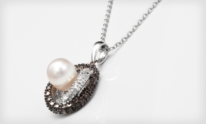 Diamond-Accented Pendant Necklaces: $18.99 for a Diamond-Accented Pendant Necklace ($59.99 List Price). 5 Pendants Available. Free Shipping and Returns.