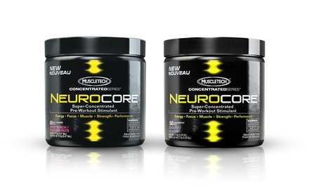 50-Serving Container of MuscleTech NeuroCore Pre-Workout Stimulant