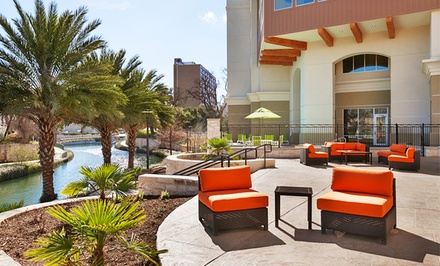 Stay at Wyndham Garden San Antonio Riverwalk/Museum Reach in San Antonio. Dates into June.