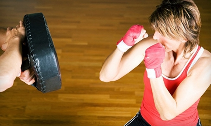 The Jym - Allen: 10 or 15 Group Boxing Classes at The Jym in Allen (Up to 77% Off)