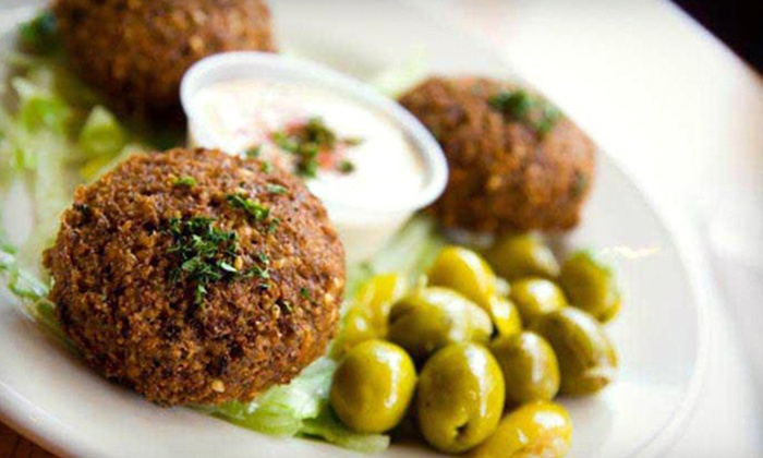 Sunrise Deli - Multiple Locations: Middle Eastern Meal for Two or Four or $50 for $100 Worth of Catered Middle Eastern Fare at Sunrise Deli