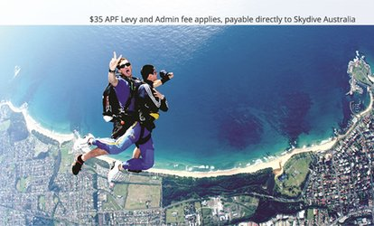 $214 (Plus $35 APF and Administration Levy) for a Tandem Skydive from Up to 15,000ft with Skydive Australia, Wollongong