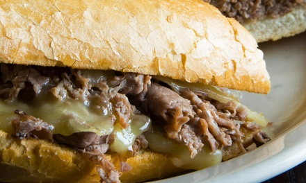 $12 for $20 Worth of Cheesesteak Sandwiches and Sides at Steak'm Take'm