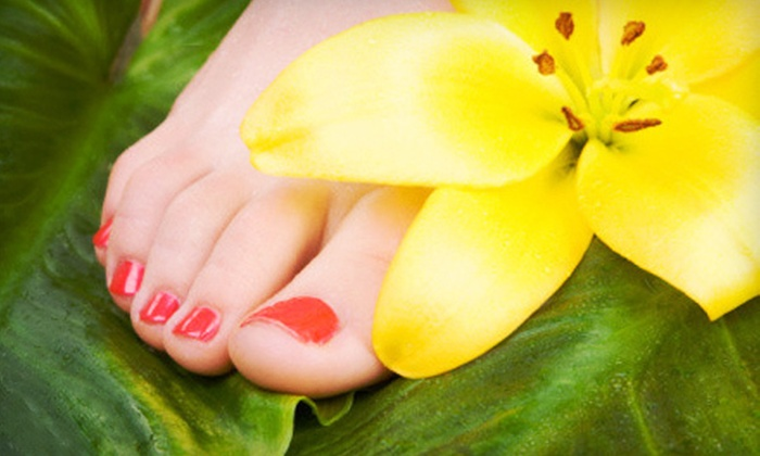 Nail Boutik - University Park: One or Two Mani-Pedis at Nail Boutik (Up to 59% Off)