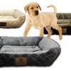 AKC Diamond-Embossed Large Box Pet Bed