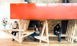Con Artist Collective: Day or Weekly Pass for Access to Shared Creative Coworking Space at Con Artist Collective (Up to 71% Off)