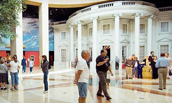 Abraham Lincoln Presidential Museum - Downtown Springfield: Abraham Lincoln Presidential Museum Outing for Two Children, Two Adults, or a Family in Springfield (Up to 53% Off)