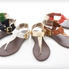 $17.99 for Carrini T-Strap Sandals