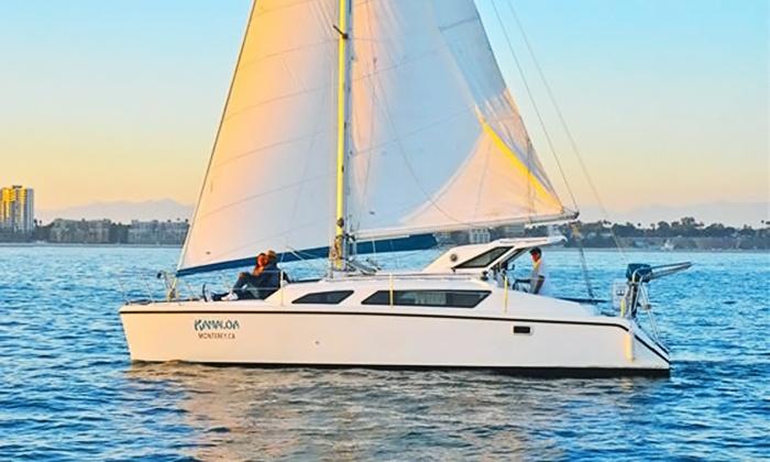 Kanaloa Charters - San Pedro: Two-Hour BYOB Yacht Charter for Two, Four, or Six at Kanaloa Charters (Up to 45% Off)