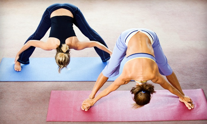 Guru Momma - Tempe: 10 Yoga Classes or Month of Unlimited Yoga Classes with Optional Childcare at Guru Momma in Tempe (Up to 71% Off)