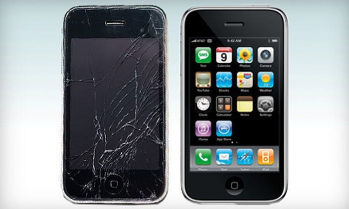 Desert Wireless - Paradise: Screen Repairs for iPhone 3G or 3GS or iPhone 4 or 4S or $35 for $80 Worth of Cell-Phone Repairs at Desert Wireless