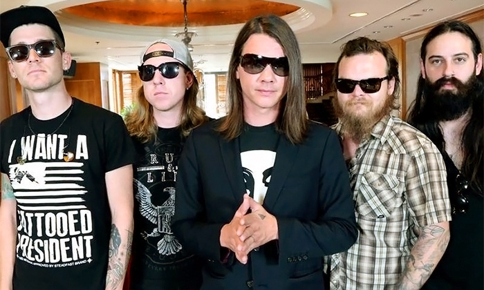 Red Jumpsuit Apparatus - Sport's Page Bar & Grill: Red Jumpsuit Apparatus at Sport's Page Bar & Grill on Friday, January 9, at 8 p.m. (Up to 60% Off)