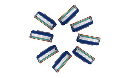 Gillette Fusion–Compatible Blade Cartridge 8-Pack