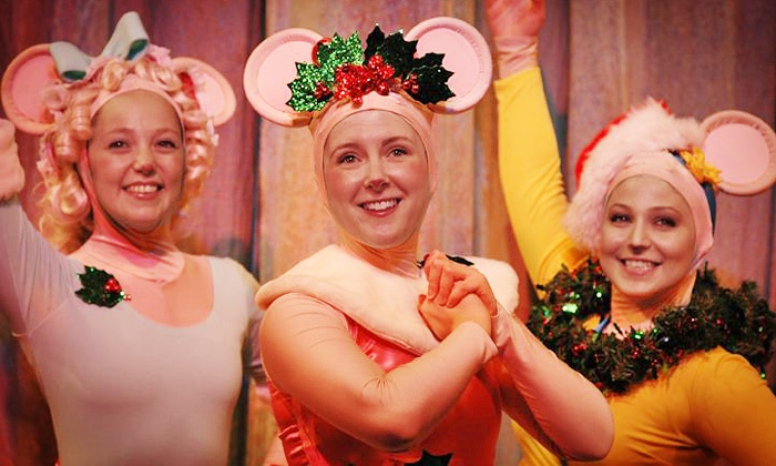 """Angelina Ballerina - A Very Merry Holiday Musical - Bergen Performing Arts Center: """"Angelina Ballerina – A Very Merry Holiday Musical"""" on December 15 (Up to 52% Off)"""