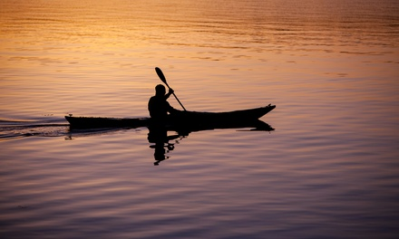 Sunset, Morning, or Afternoon Kayak Tour for One or Two or Kayak Rental at Liquid Blue Outfitters (Up to 60% Off)