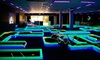Lunar Mini Golf - OOB - Multiple Locations: Three Games of Glow-in-the-Dark Mini Golf for Two, Four, or Six at Lunar Golf in Sarasota (Up to 55% Off)