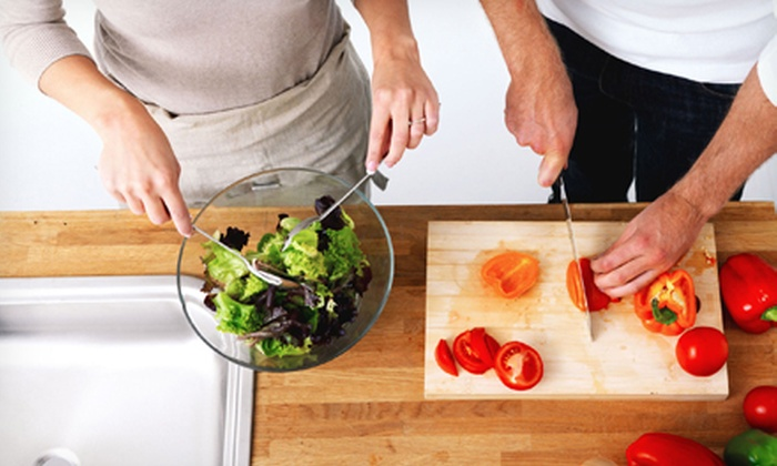 Naked Nutrition - Multiple Locations: Gluten-Free or Organic In-Home Cooking Class for Up to Two, Four, or Six from Naked Nutrition (Up to 67% Off)