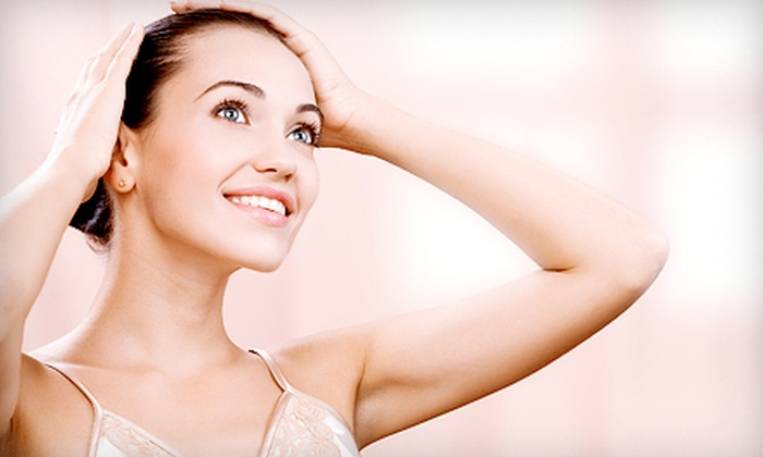Solution Medical Spa - Hialeah: 12 Laser Hair-Removal Sessions on Two Areas at Solution Medical Spa in Hialeah (Up to 97% Off). Three Options Available.