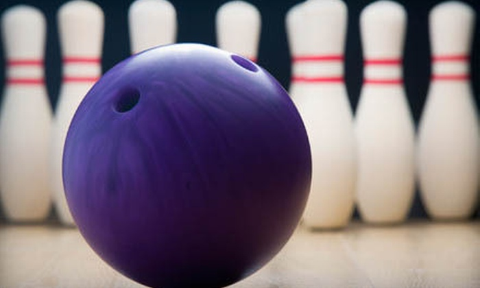 Pin Chasers - Multiple Locations: $24 for Two Games of Bowling and Shoe Rental for Up to Five People at Pin Chasers (Up to $59.90 Value)