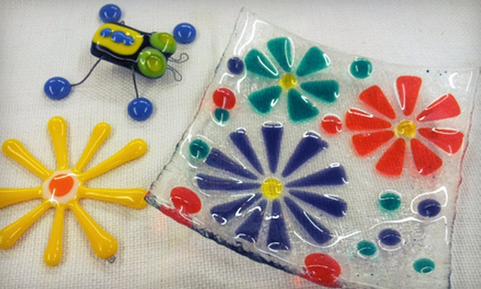 Creations Unique Studio - Gage Village Shopping Center: Fused-Glass Workshop for One or Two at Creations Unique Studio (Up to 52% Off)