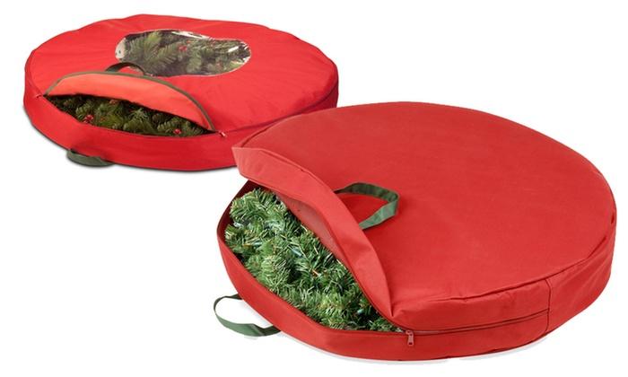 "Honey Can Do Zipper Canvas Wreath Storage Bag: Honey Can Do 30"" or 36"" Zipper Canvas Wreath Storage Bag. Free Returns."