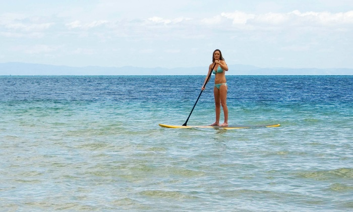 Scott Crawford of Soma Get Fit - Santa Barbara Downtown: 60-Minute Standup-Paddleboard Lesson for One, Two, or Three from Scott Crawford of Soma Get Fit (Up to 80% Off)