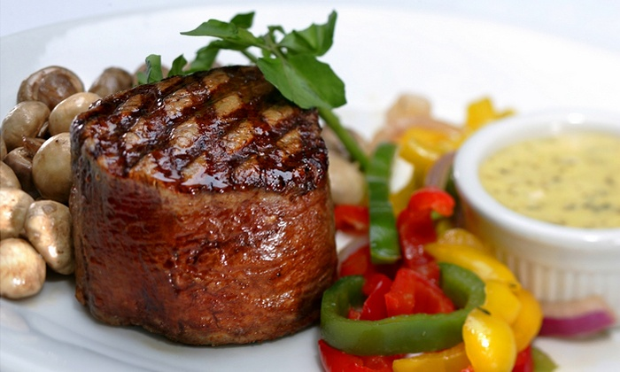 Shula's 347 Grill - West Valley City: Casual Steak-House Cuisine at Shula's 347 Grill (Up to 52% Off). Two Options Available.
