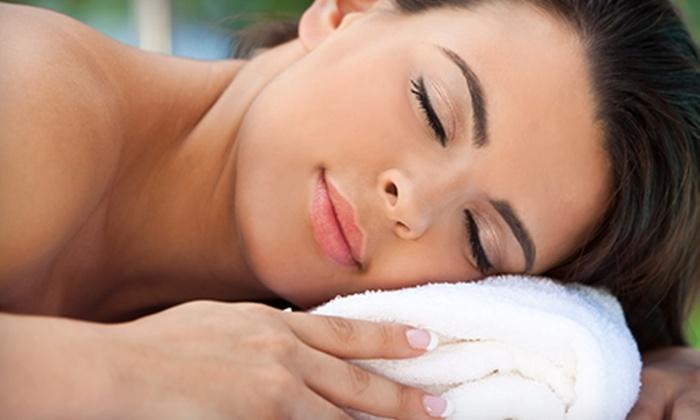 Embrace Salon and Spa - Brunswick: Spa Mani-Pedi, 60-Minute Facial, Swedish Massage, or Hot-Stone Massage at Embrace Salon and Spa (Half Off)