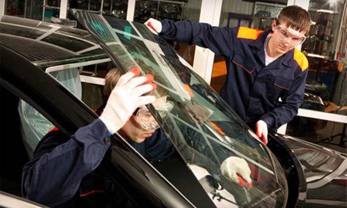 RM Mobil Glass - Park Hill: $35 for $100 Toward Full Windshield Replacement from RM Mobil Glass
