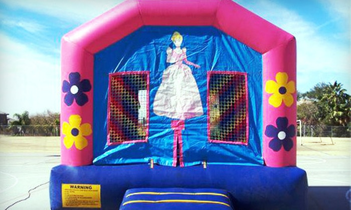 Desert Bounce Houses - Maricopa: 2.5-Hour Bounce-House Rental With Option for Concession from Desert Bounce Houses (51% Off)
