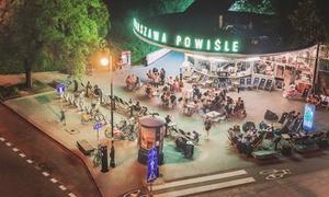 Warszawa Powiśle: Przekąski, napoje i więcej: 29,99 zł za groupon wart 50 zł na całe menu i więcej opcji w kultowej Warszawie Powiśle