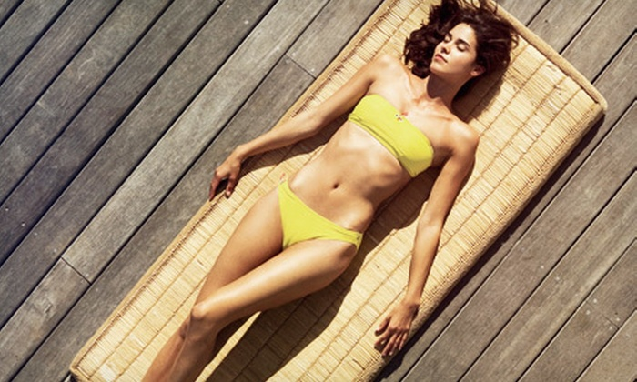 Perfect Tan - Plano: Two or Five Airbrush Spray Tans at Perfect Tan (Up to 60% Off)