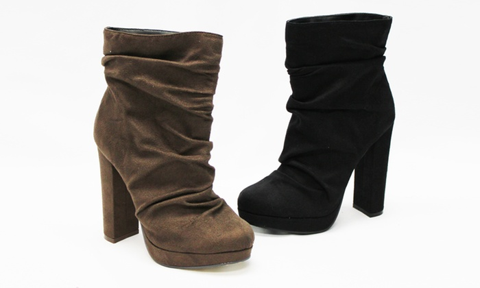 Michael Antonio Malone Heeled Bootie: Michael Antonio Malone Heeled Booties. Multiple Colors Available. Free Shipping and Returns.