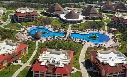 Groupon Deal: ✈ All-Inclusive Riviera Maya Stay with Airfare. Includes Taxes and Fees. Price per Person Based on Double Occupancy.